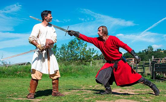 combat a l'épée