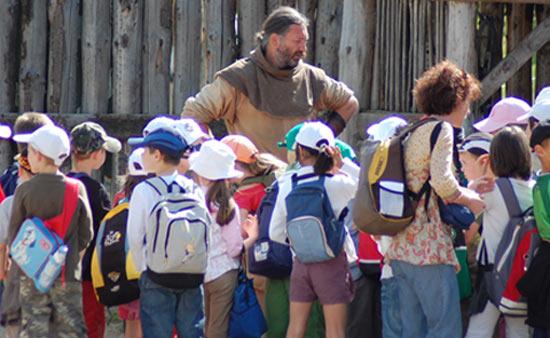 voyage scolaire à salva terra