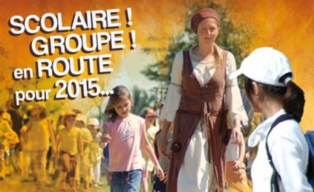 Scolaire ! Groupe ! en route pour 2015