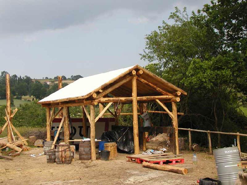 Construction du parc Salva Terra