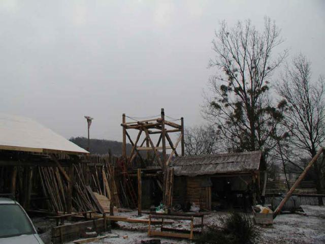 Construction de la tour de Salva Terra
