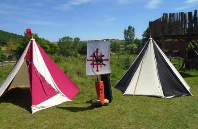 Les tentes médiévales Chantelame