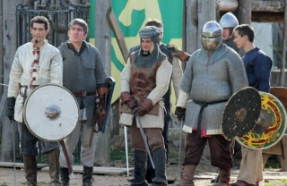 Groupe de chevaliers
