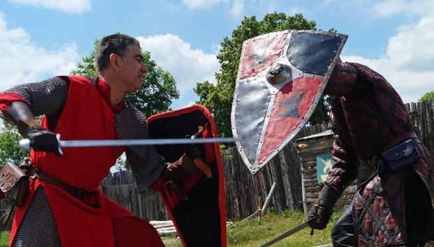 Les chevaliers au moyen âge
