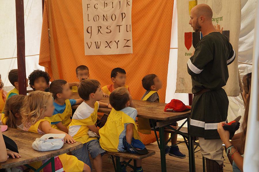 Pédagogie à Salva Terra avec groupe scolaire
